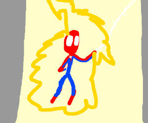 spider-man the amazing lightning rod