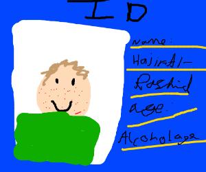 Awkward teen uses fake ID
