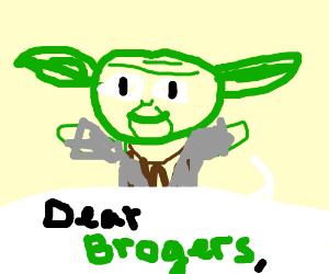 Yoda addresses all ogres