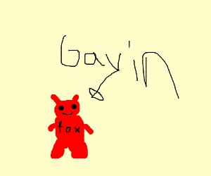 Gavin the Red Fox