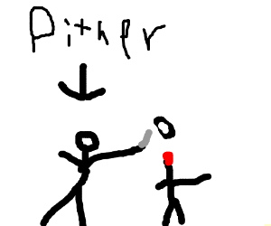 Flaming pither decapitates people