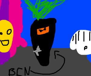 black carot ninja