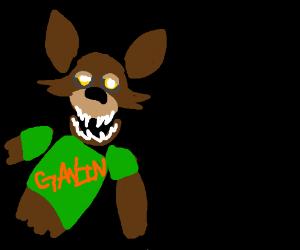 Foxy with a Gavin shirt