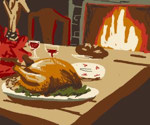 A true Modern-American Thanksgiving.