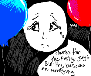 Party for a ballonphobe