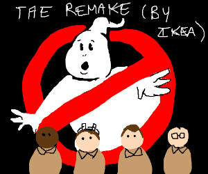 Ghost busters remake made possible by IKEA