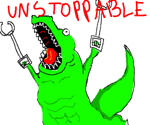 unstoppable croc