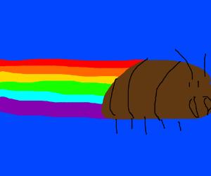 neon cockroach