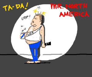 Mr. North America: United States!