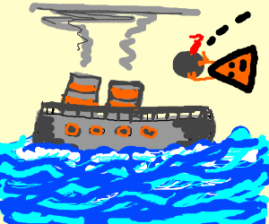 stopping the explosion of the trade fed ship