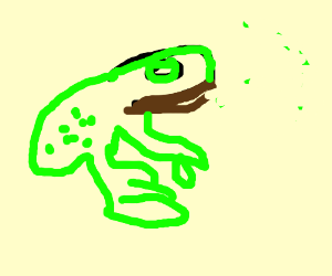frog w/ brown lips
