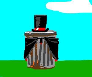 Magician trashcan