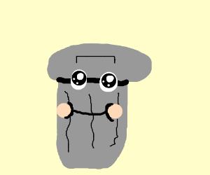 Kawaii trashcan