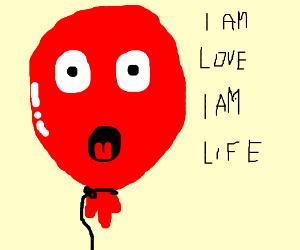 balloon head is love balloon head is life