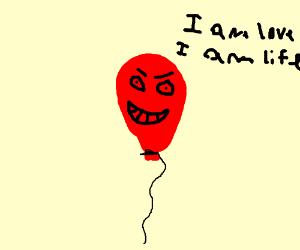 Balloon is love. Ballon is life.