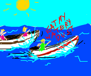 Boat race!