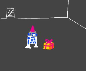 R2D2's birdthday party