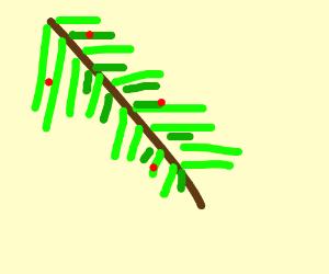 either mistletoe or jack's beanstalk has hemme