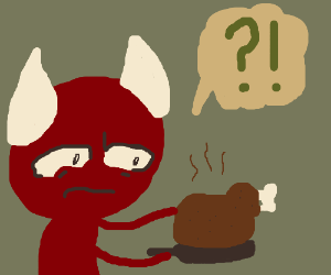 Devil doesn't know how to make deviled ham