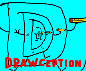 Drawception inception. We have to go deeper.