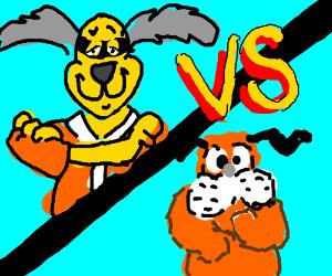 Hong Kong Phooey vs. Duck Hunt Dog