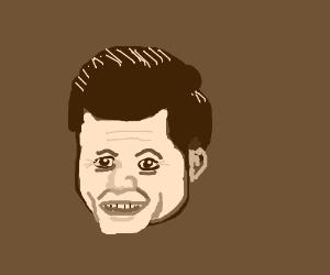 Portrait of JFK.