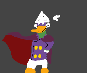 Darkwing Duck gets a new hat