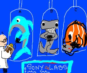Sony takes control of sea mammal