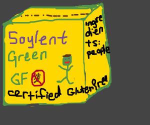 Soylent Green's gluten free! Also it's people.
