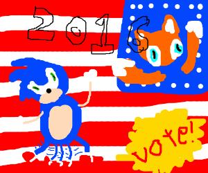 Sonic for president!
