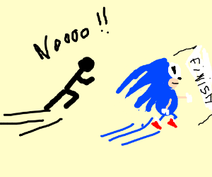 Sonic has fired you