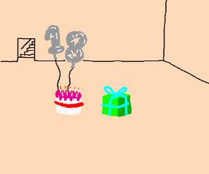 SOMEBODY TURNED 18! YUMMY CAKE!