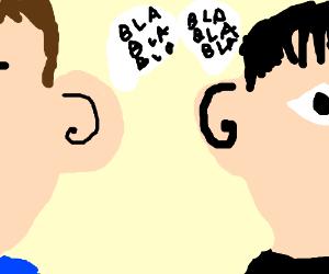 Ears talk.
