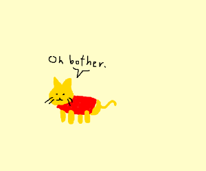 winnie the cat