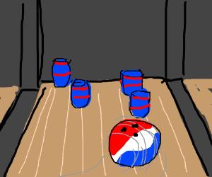 Pepsi bowling