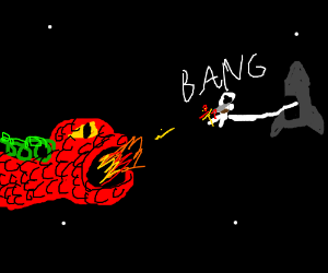 Hunting Dragons In Space!