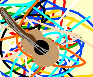 Jammin' on the guitar, brah!!!!