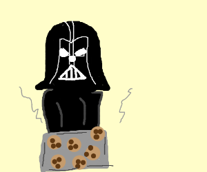 Come on the Darth Side. We made cookies.
