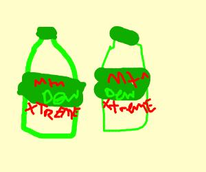 Mountain dew EXTREME X2