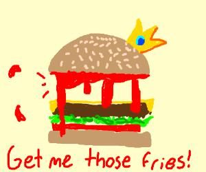 the burger king