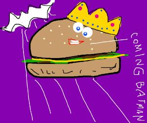 burger king joins batman