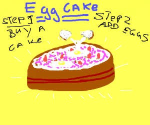 Add Eggs to the Cake