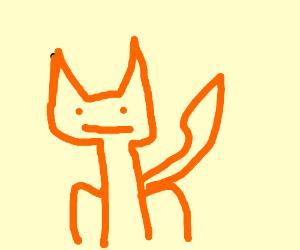 Cajun Fox without glasses..