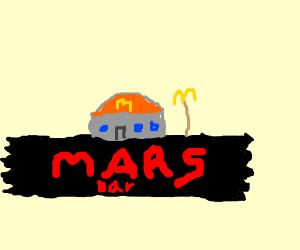A mcdonalds on mars