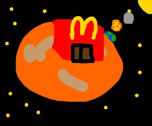 A McDonald's on MARS