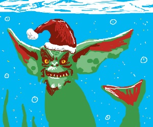 Aquatic Holiday Gremlin