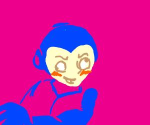 Megaman Derp Face Drawing By Madu Fragoso Drawception