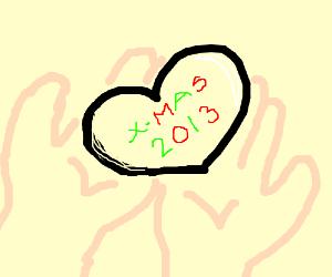 LAST CHRISTMAS I GAVE YOU MY HEART x3