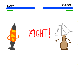 Lava Lamp vs. Normal Lamp... FIGHT!