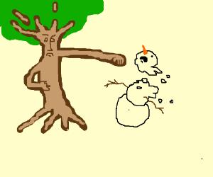 tree hates winter